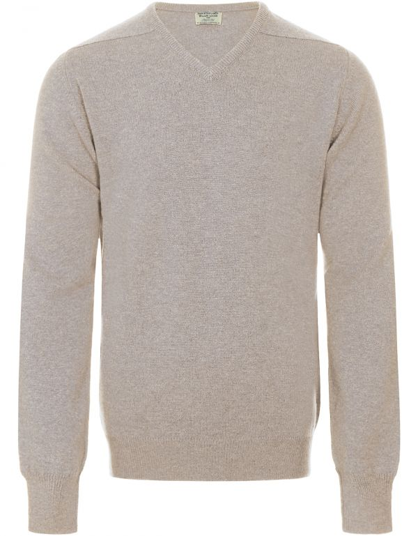William Lockie Truien Lambswool V neck 00002165| Steppin' Out
