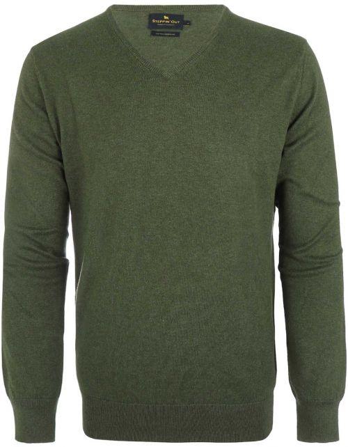 Cotton Cashmere v-neck