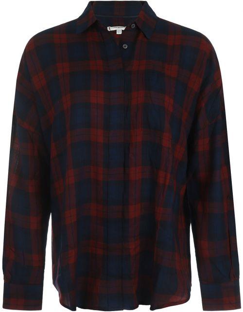 Bea Tartan Relaxed Shirt