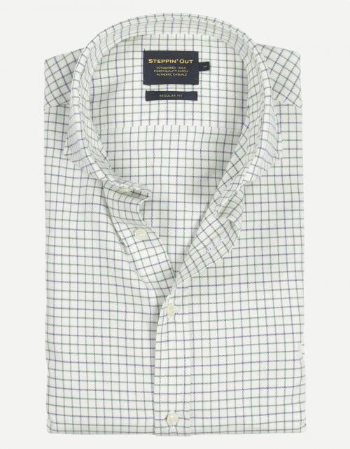 Brushed Cotton Cutaway Shirt