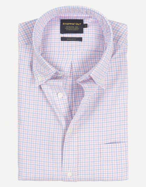 Brushed Cotton Button Down Shirt