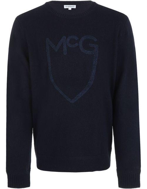 McG Shield Towel Logo Cneck sweater