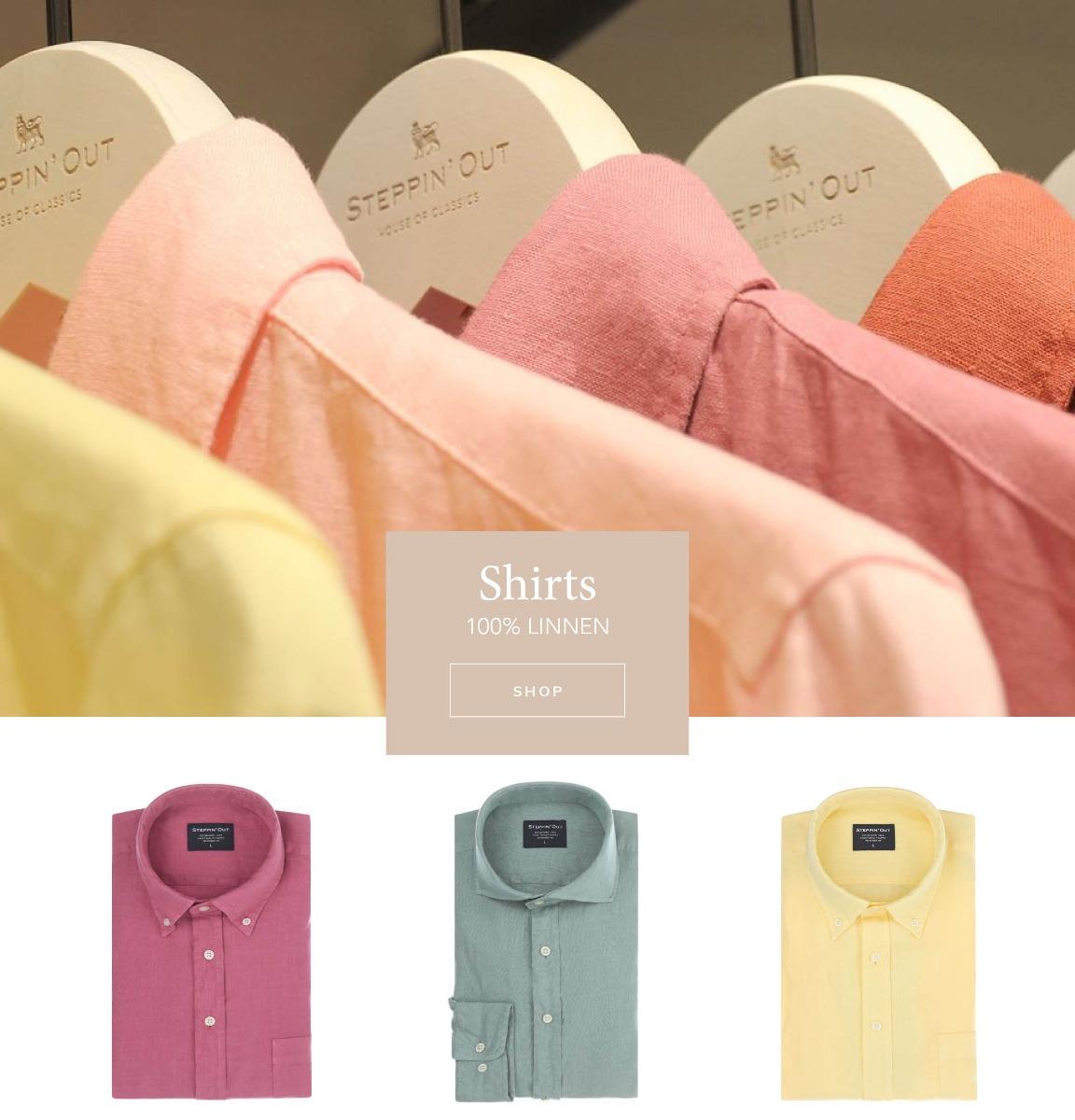 Linnen shirts