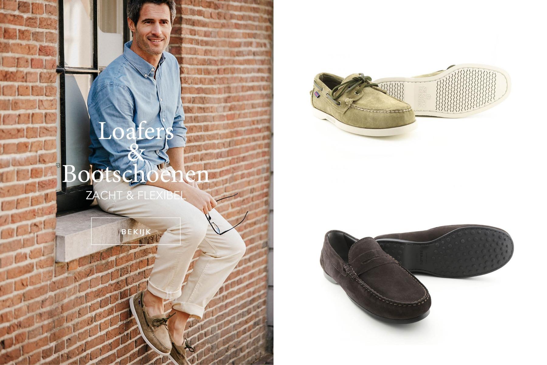 Loafers en bootschoenen