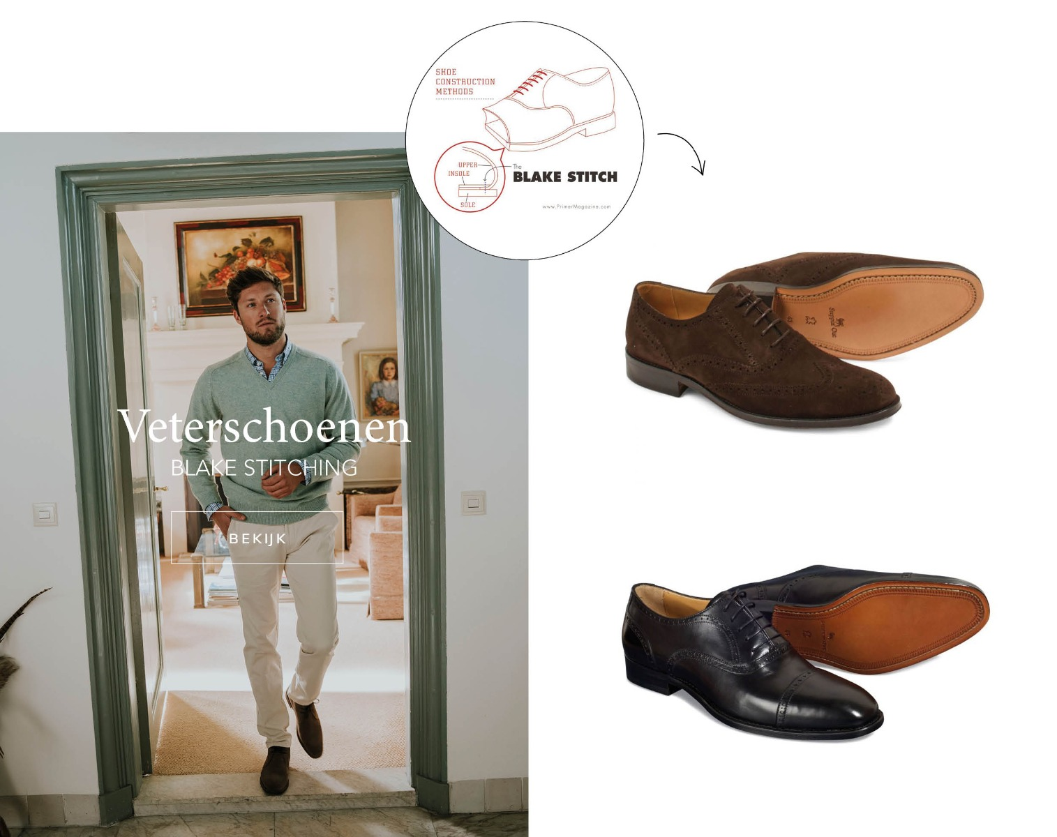 Shoe guide veterschoenen