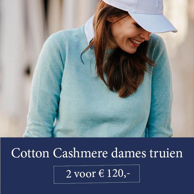 actie dames cotton cashmere